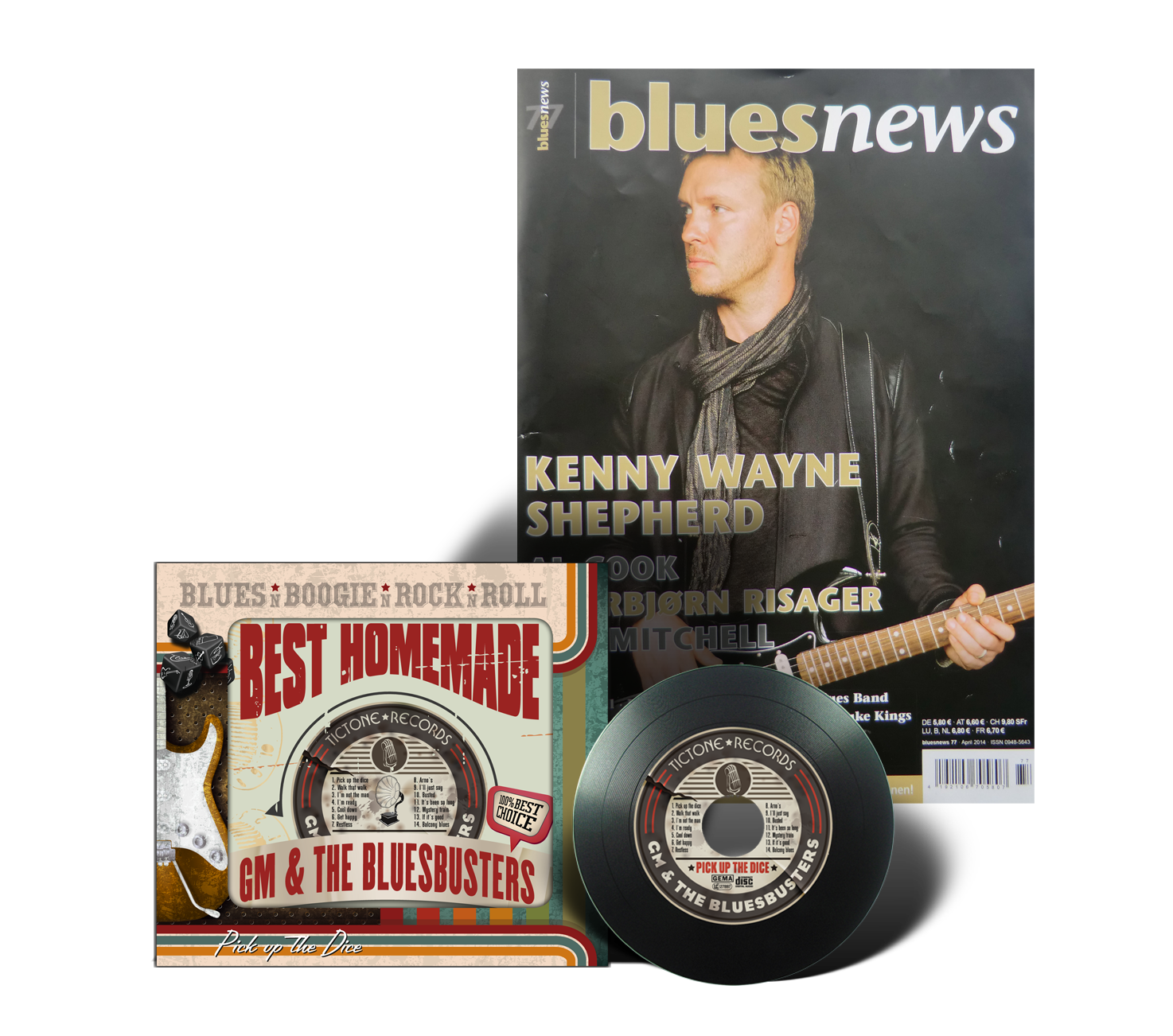 BluesNews CD Rezension2 pick up the dice